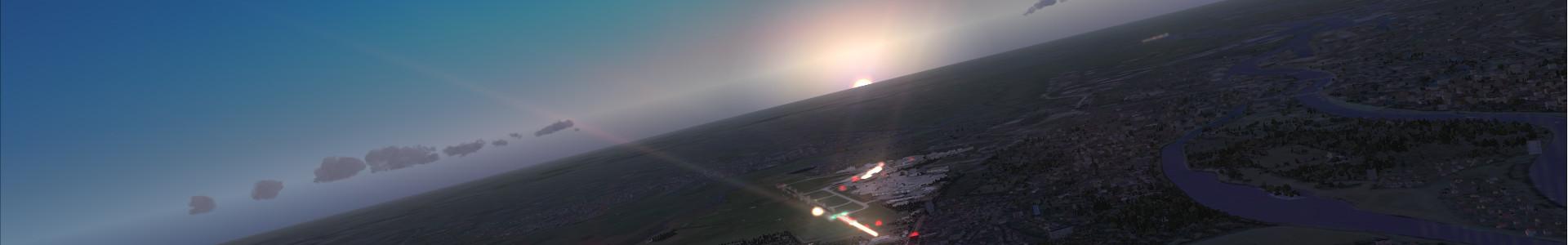 FSX Simulator Bild EDDW
