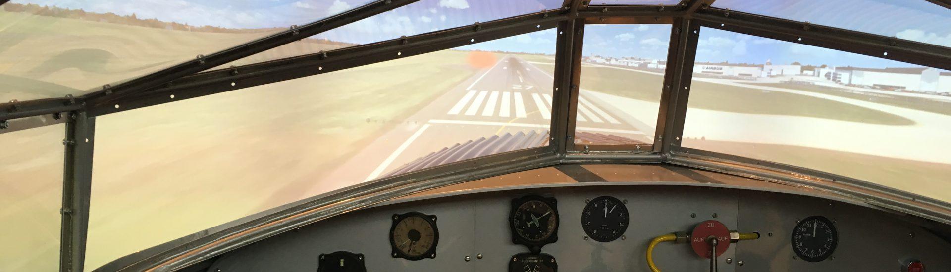 Junkers W33 Simulator Airport Bremen